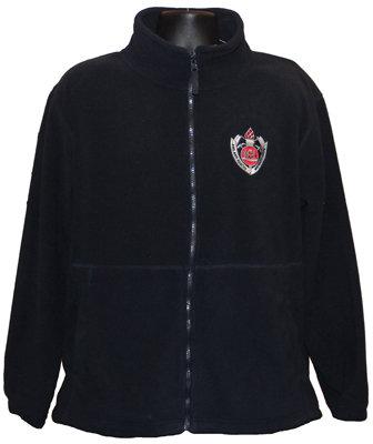 #1197 Full Zip polar Fleece FRNSW Logo