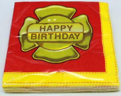#2076 Happy Birthday Serviettes