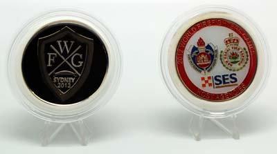 #2159 Medallion World Firefighter Games 2012