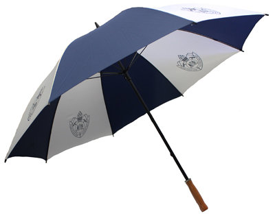 #1138 Navy/White FRNSW Golf Umbrella