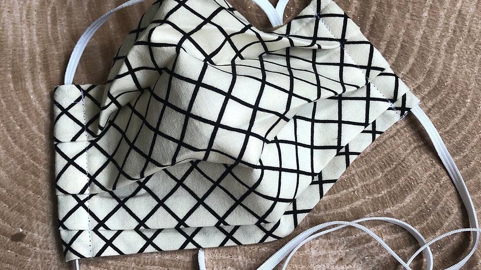 Criss Cross Applesauce Mask
