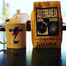 1lb Local Roasted Organic Coffee
