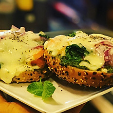 Moz and Spinach Melt