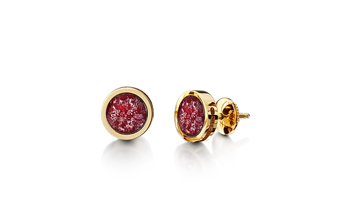 Gold Memorial Earrings