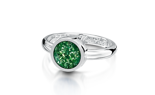 White Gold Tribute Ring