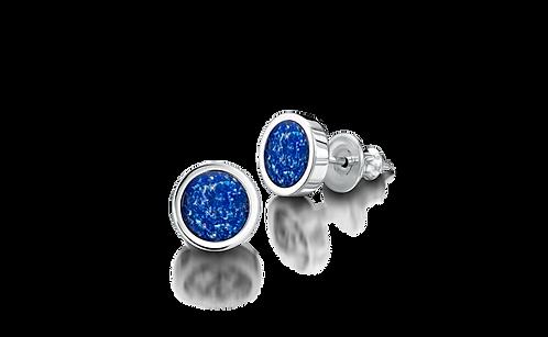 Silver Memorial Earrings
