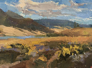 Eagle's Nest, NM  en plein air