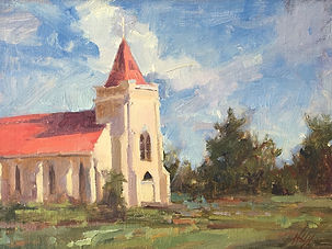 Sacred Heart, OK en plein air