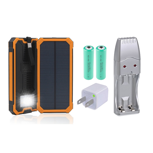 Solar Rechargeable Battery Kit