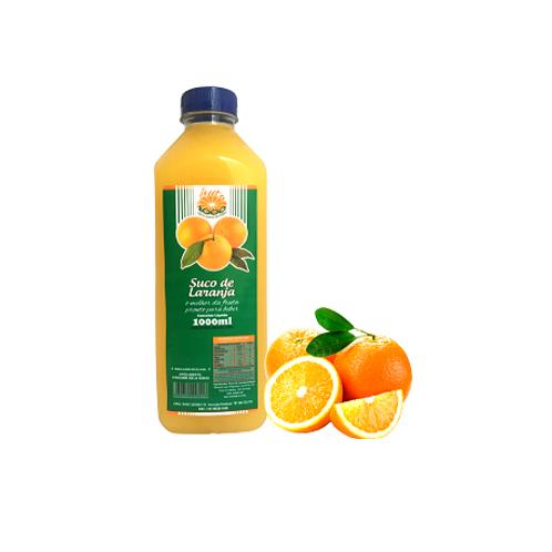 GARRAFA 01 litro Laranja