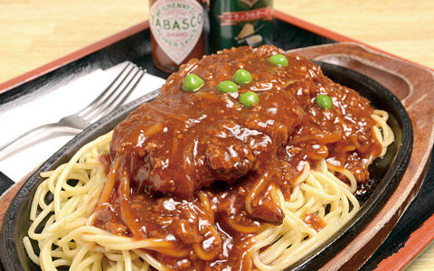 豬排肉醬義大利麵