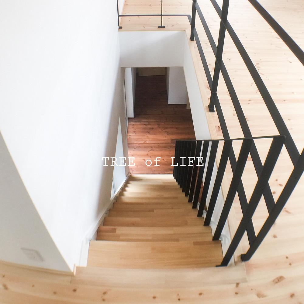 階段(上→下)