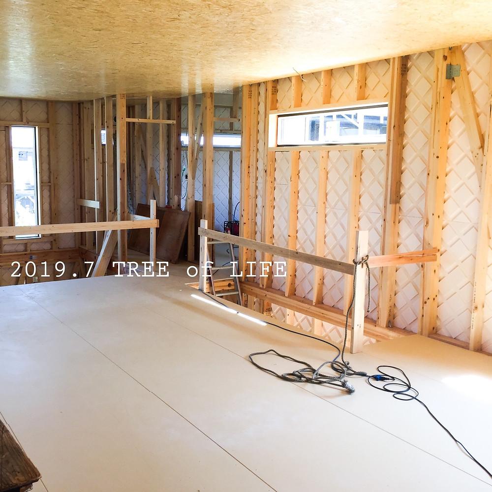 2階フリースペース|無垢の木の家|クリエイティブAG|磐田市