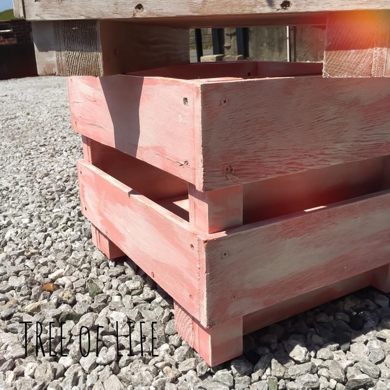 ウッドフリーボックス(ピンク)