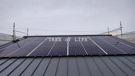 太陽光パネル設置後