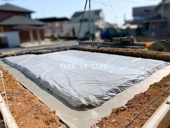 透湿シート・捨てコンクリート
