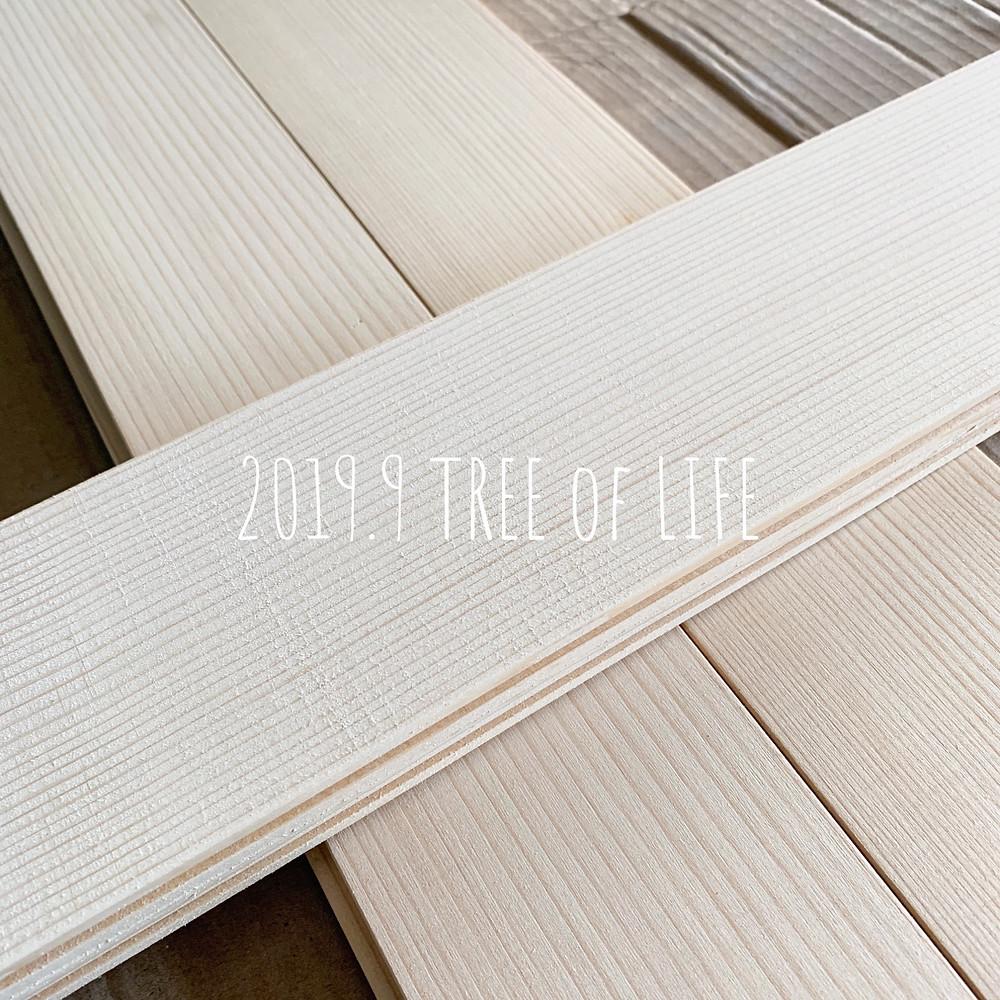 もみ材(塗装済)ホワイト|無垢の木の家|クリエイティブAG|磐田市