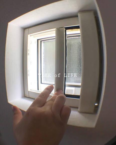 洗面所 窓 小さくても性能はパッチリです。