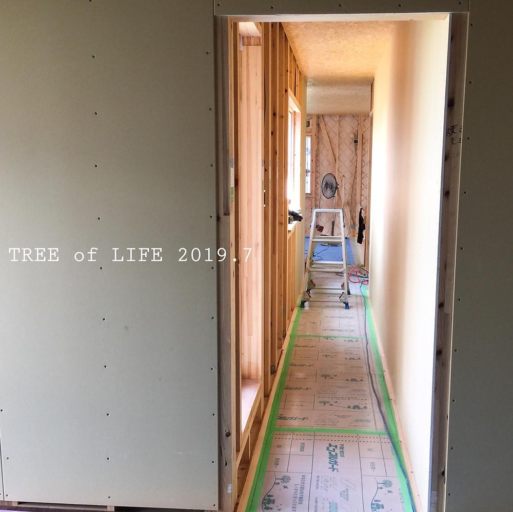 ⑧2階寝室→廊下