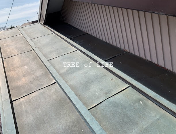 屋根補修前