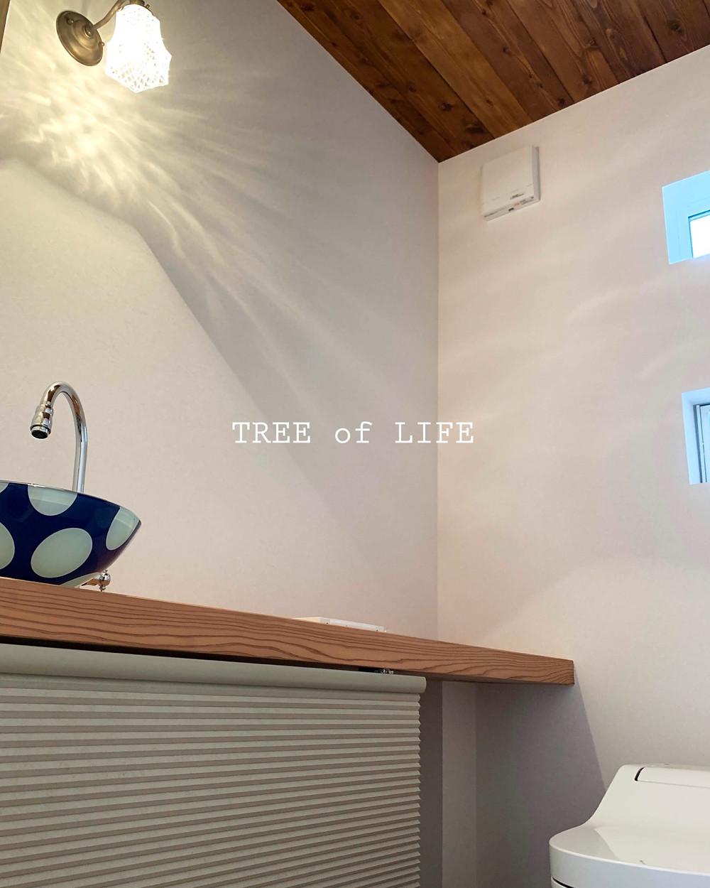 トイレ 洗面カウンター・天井