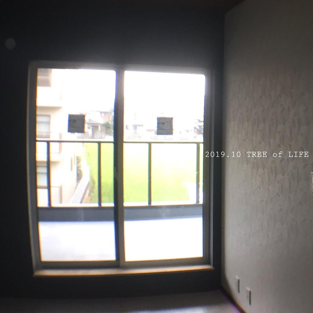 2階寝室→ベランダ