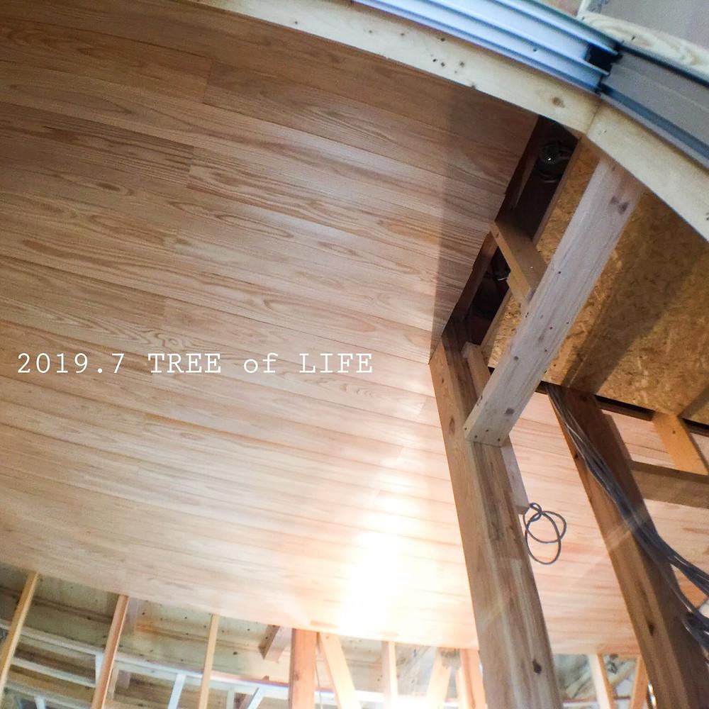1階廊下|無垢の木の家|クリエイティブAG|磐田市
