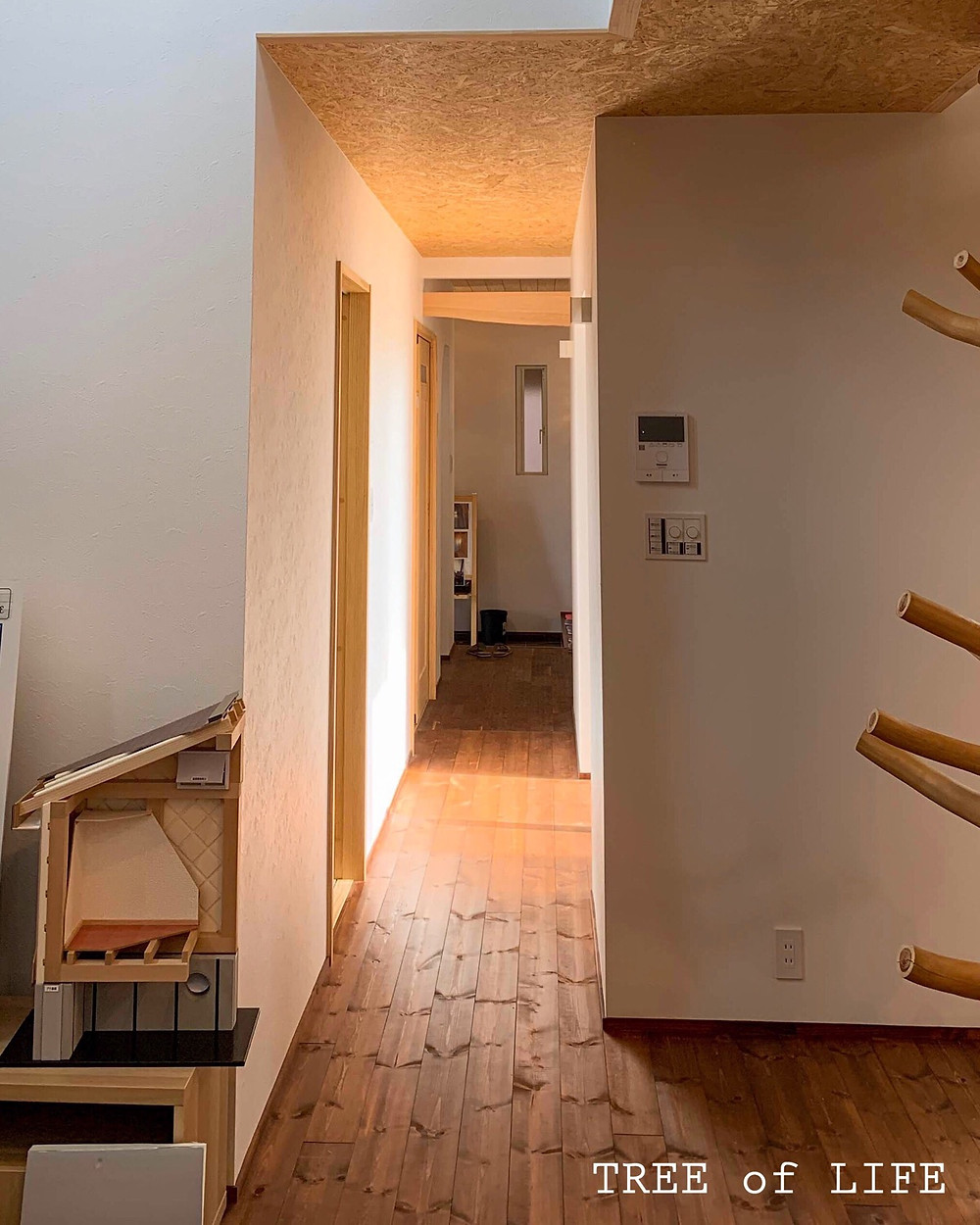 1階廊下 リビング→玄関