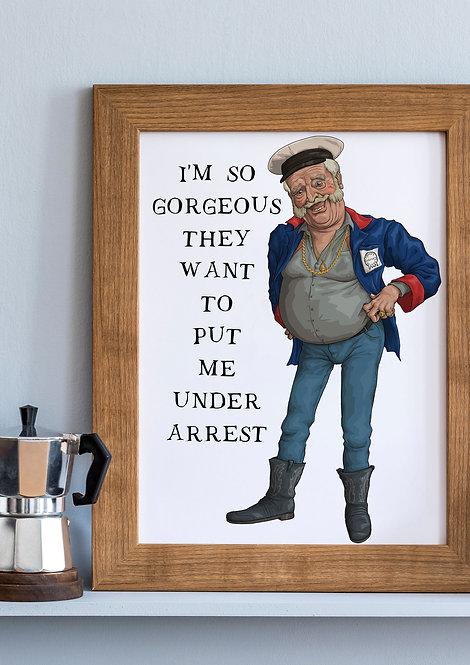 Pat Mustard Quote Prints