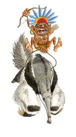 Pygmy Anteater Rider