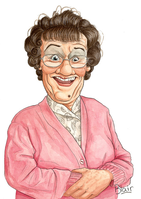 Mrs Brown - Original Artwork