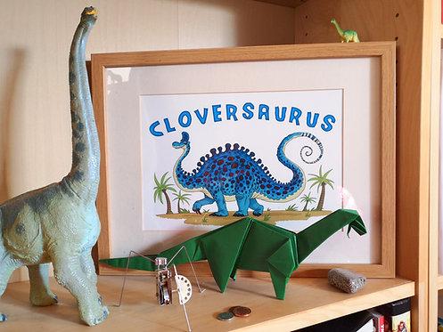 Blankodocus: Personalised A4 Dinosaur Print