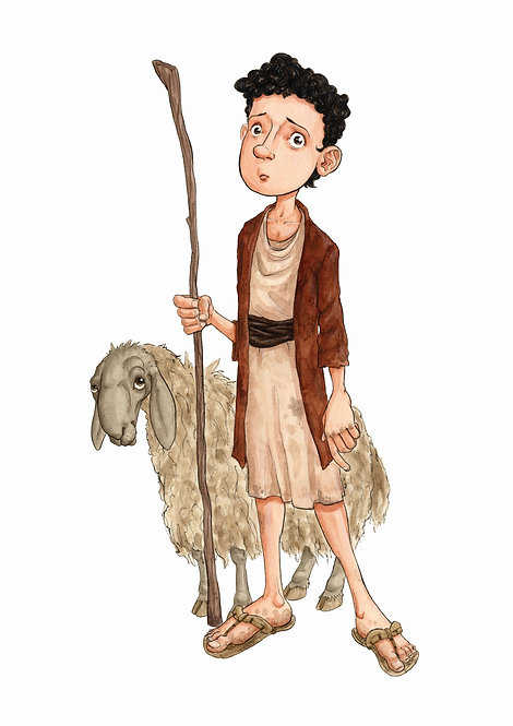 Shepherd Boy - Original Artwork