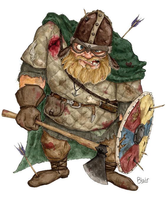 Viking - Original Artwork