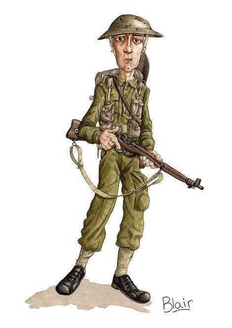 Soldier - Original Artwork