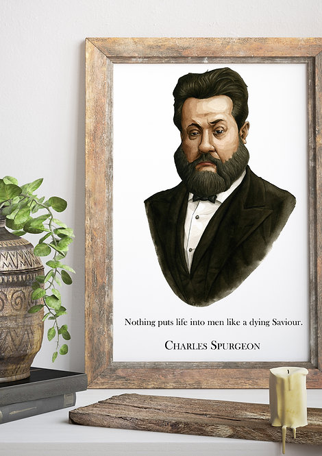 Charles Spurgeon Wall Quote