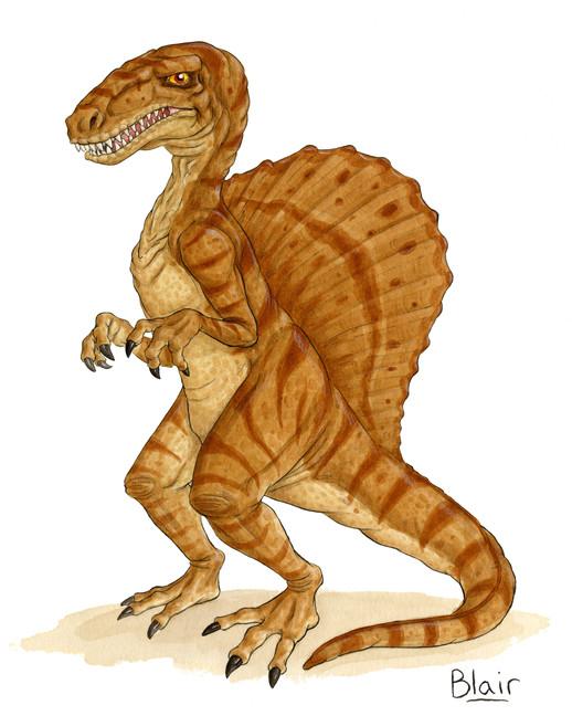 Old School Spinosaurus