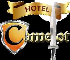 Logo Hotel Camelot, San Miguel El Salvador