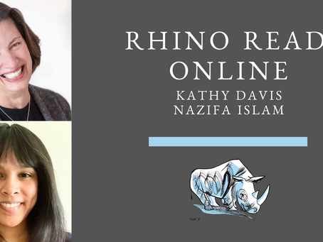 RHINO Reads: Kathy Davis + Nazifa Islam