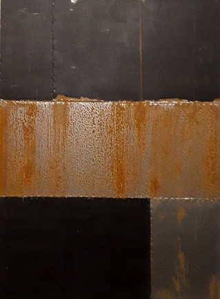 AS-2, Black and Rust on Steel