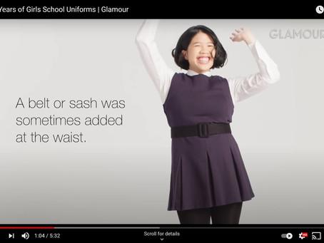 100 Years of School Uniforms