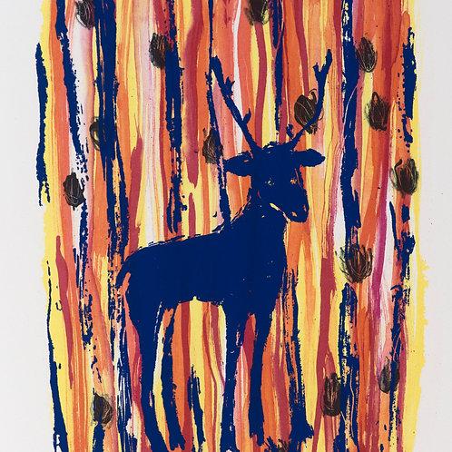 Hjorten i tapeten, Suzanne Nessim