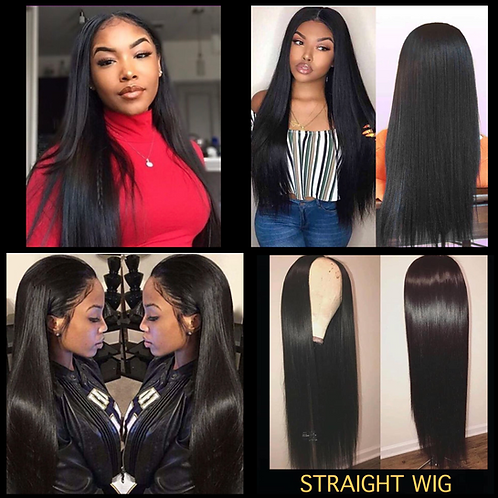 *Straight Lace Wig - 150% Density