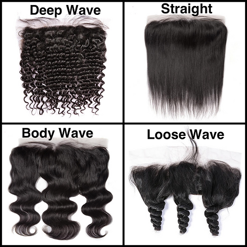 *13x6 Lace Frontals