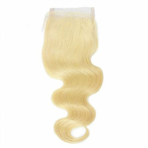 *Blonde 4x4 Body Wave Closure