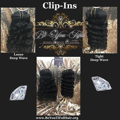 "Clip-Ins / Deep Wave 12"""