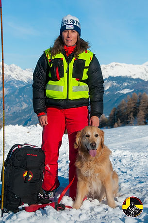 Maître chien d'avalanche Hautes-Alpes
