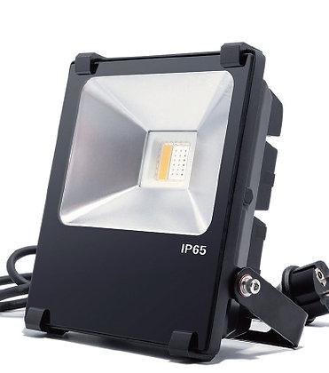 LED FLOOD LIGHT - 20W RGB+WW W/ REMOTE