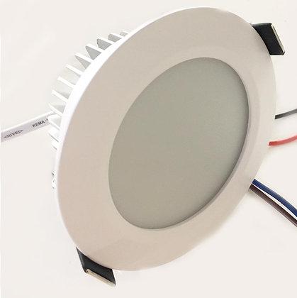 """FLAT RECESSED LIGHT - 24V/7 WATT (3.8"""" DIAMETER)"""