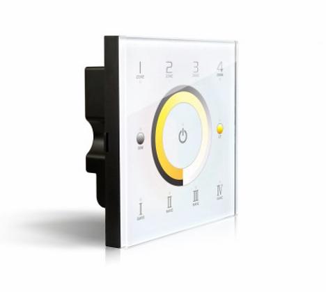 LTECH LED DIMMER TOUCH DIM/CT DMX/RF 4 ZONES - DX7